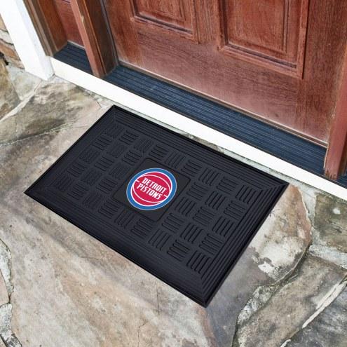 Detroit Pistons Vinyl Door Mat