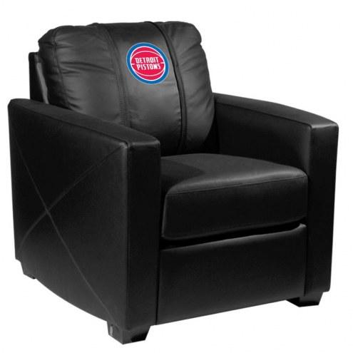 Detroit Pistons XZipit Silver Club Chair