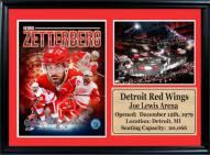"""Detroit Red Wings 12"""" x 18"""" Henrik Zetterberg Photo Stat Frame"""