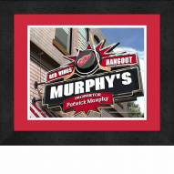 Detroit Red Wings 13 x 16 Personalized Framed Sports Pub Print