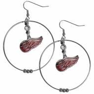 """Detroit Red Wings 2"""" Hoop Earrings"""