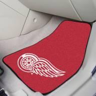 Detroit Red Wings 2-Piece Carpet Car Mats