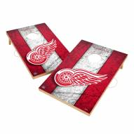 Detroit Red Wings 2' x 3' Vintage Wood Cornhole Game