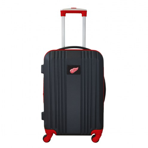 """Detroit Red Wings 21"""" Hardcase Luggage Carry-on Spinner"""