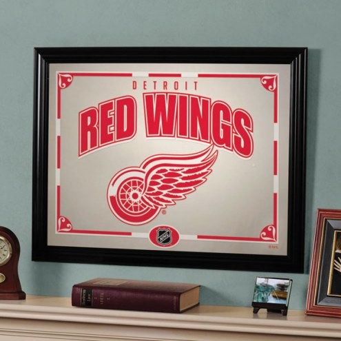 "Detroit Red Wings 23"" x 18"" Mirror"