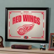 """Detroit Red Wings 23"""" x 18"""" Mirror"""