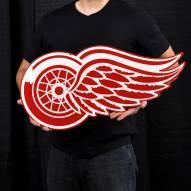 "Detroit Red Wings 24"" Steel Logo Sign"