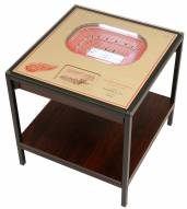 Detroit Red Wings 25-Layer StadiumViews Lighted End Table