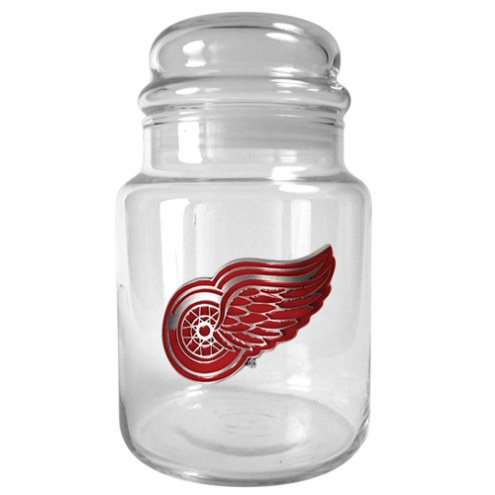 Detroit Red Wings 31 Oz. Glass Candy Jar
