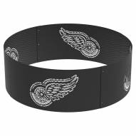 """Detroit Red Wings 36"""" Round Steel Fire Ring"""
