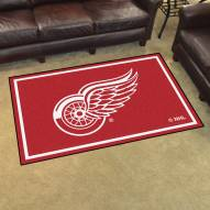 Detroit Red Wings 4' x 6' Area Rug