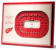 Detroit Red Wings 5-Layer StadiumViews 3D Wall Art