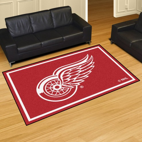 Detroit Red Wings 5' x 8' Area Rug