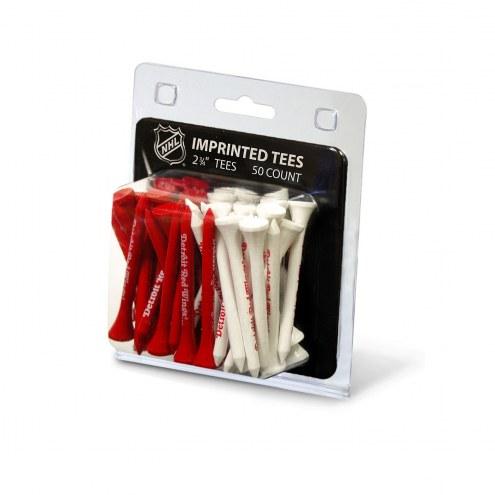 Detroit Red Wings 50 Golf Tee Pack