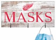 "Detroit Red Wings 6"" x 12"" Mask Holder"