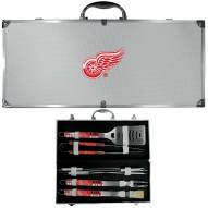 Detroit Red Wings 8 Piece Tailgater BBQ Set