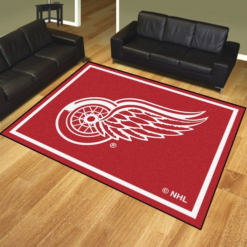 Detroit Red Wings 8' x 10' Area Rug