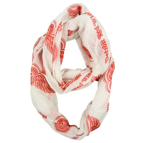 Detroit Red Wings Alternate Sheer Infinity Scarf