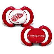 Detroit Red Wings Baby Pacifier 2-Pack