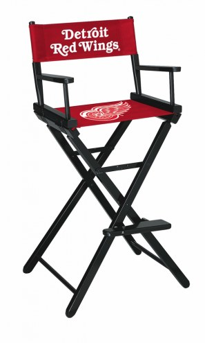 Detroit Red Wings Bar Height Director's Chair