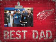 Detroit Red Wings Best Dad Clip Frame