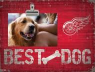 Detroit Red Wings Best Dog Clip Frame