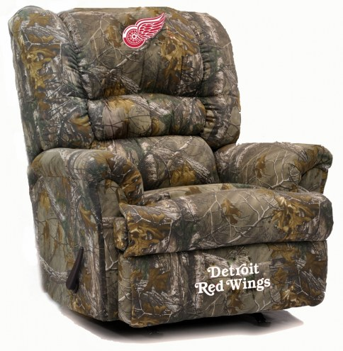 Detroit Red Wings Big Daddy Camo Recliner