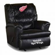 Detroit Red Wings Big Daddy Leather Recliner