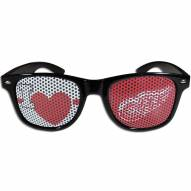 Detroit Red Wings Black I Heart Game Day Shades