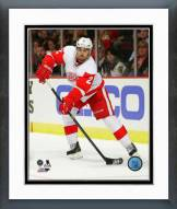 Detroit Red Wings Brendan Smith 2014-15 Action Framed Photo