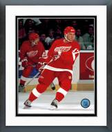 Detroit Red Wings Brett Hull Action Framed Photo