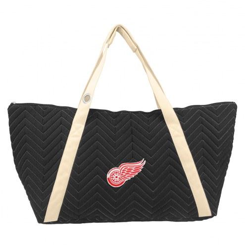 Detroit Red Wings Chevron Stitch Weekender Bag