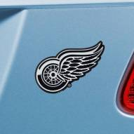 Detroit Red Wings Chrome Metal Car Emblem