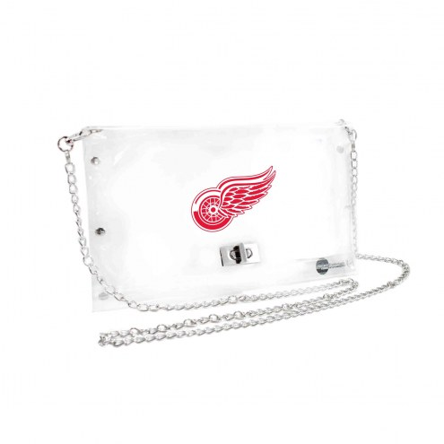 Detroit Red Wings Clear Envelope Purse