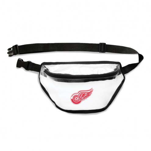 Detroit Red Wings Clear Fanny Pack