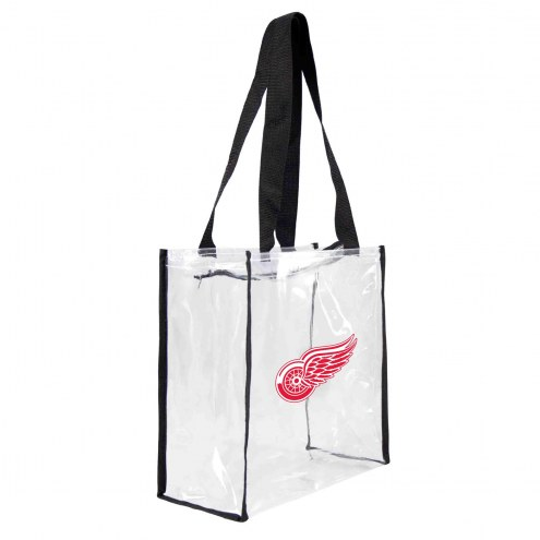 Detroit Red Wings Clear Square Stadium Tote
