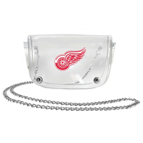 Detroit Red Wings Clear Waistpack