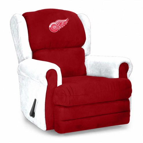 Detroit Red Wings Coach Recliner