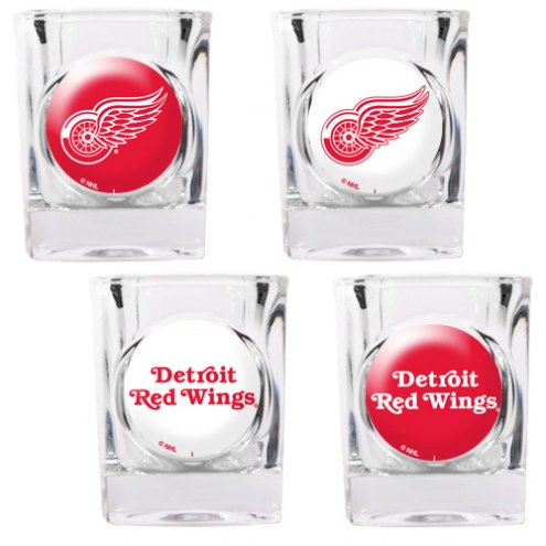 Detroit Red Wings Collector's Shot Glass Set