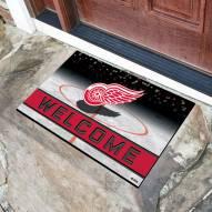 Detroit Red Wings Crumb Rubber Door Mat