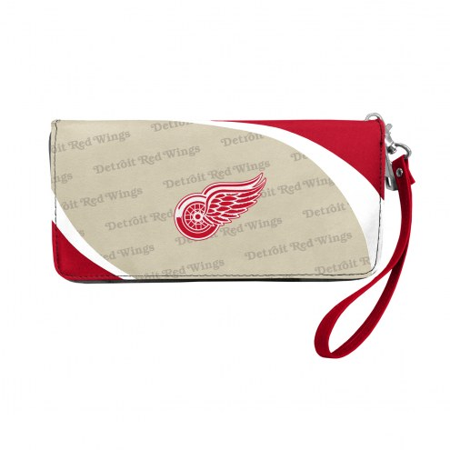 Detroit Red Wings Curve Zip Organizer Wallet