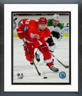 Detroit Red Wings Darren Helm 2014-15 Action Framed Photo