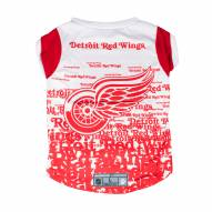 Detroit Red Wings Dog Performance Tee