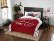 Detroit Red Wings Draft Full/Queen Comforter Set