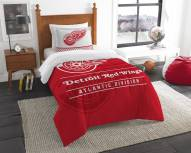 Detroit Red Wings Draft Twin Comforter Set