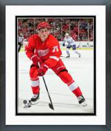 Detroit Red Wings Dylan Larkin Action Framed Photo