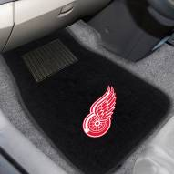 Detroit Red Wings Embroidered Car Mats