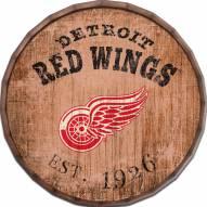"""Detroit Red Wings Established Date 24"""" Barrel Top"""
