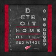 Detroit Red Wings Eye Chart