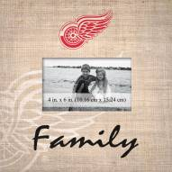 Detroit Red Wings Family Picture Frame